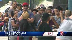 Long lines for residents seeking reimbursements [Video]