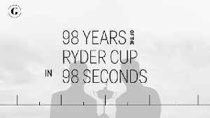 98 Years of the Ryder Cup in 98 Seconds [Video]