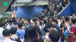 News video: Typhoon Mangkhut Causes Hong Kong Subway Chaos