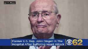 Former Us Rep. John Dingell, 92, In Hospital After Heart Attack [Video]