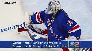 Lundqvist Happy To Be Part Of Rangers' Rebuild [Video]