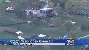 Crews Cleanup After Grandoozy Music Festival [Video]