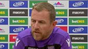 Rowett: No panic at Stoke [Video]