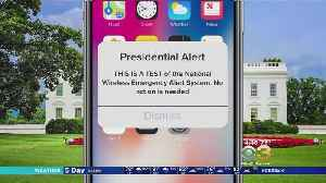 Nationwide Wireless Presidential Alert To Be Tested Oct. 3 [Video]
