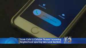 Scam Calls To Cell Phones Increasing [Video]