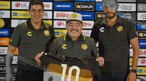 Maradona Hopes to Take Sinaloa Back to the Top Flight [Video]
