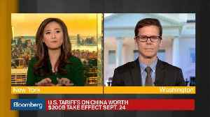 New Tariffs a More 'Significant Blow' to China Than U.S., Crumpton's Blanchette Says [Video]