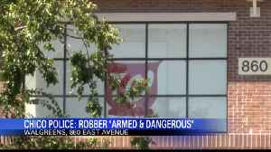 Man Flees Chico Walgreens After Armed Robbery Attempt [Video]