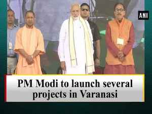 PM Modi to launch several projects in Varanasi [Video]
