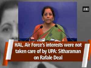 HAL, Air Force's interests were not taken care of by UPA: Sitharaman on Rafale Deal [Video]