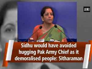 Sidhu would have avoided hugging Pak Army Chief as it demoralised people: Sitharaman [Video]