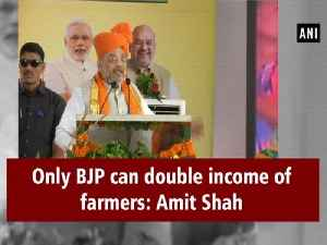 Only BJP can double income of farmers: Amit Shah [Video]