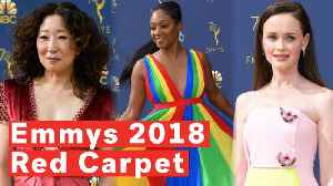 2018 Emmys Red Carpet Highlights [Video]