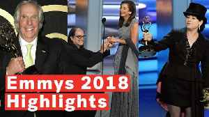 Highlights Of The 2018 Emmys: From Glenn Weiss' Proposal To Henry Winkler's First Award In 40 Years