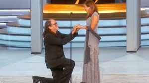 Director Glenn Weiss Proposes to Girlfriend on Emmy Stage After Accepting Award [Video]