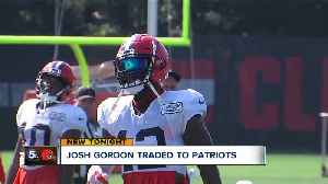 Browns trade Josh Gordon to Patriots for fifth-round pick [Video]