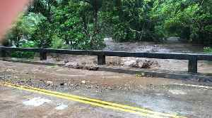 Tropical Storm Olivia Hits Hawaii with Flash Floods [Video]
