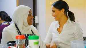 Meghan Markle Supports Charity Cookbook to Benefit Grenfell Fire Victims [Video]