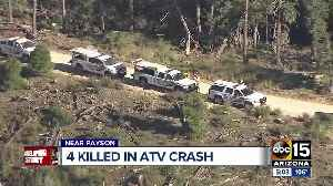 Family speaks after four bodies recovered from ATV crash site north of Payson [Video]