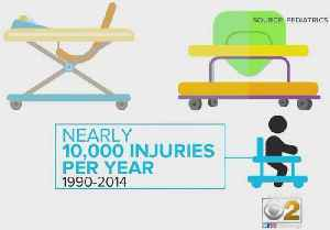 Too Many Children Injured By Baby Walkers, Study Finds [Video]