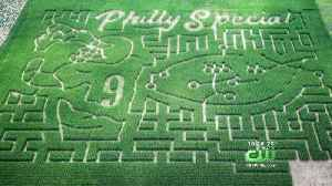South Jersey Farm Turns 'Philly Special' Into Corn Maze [Video]