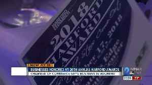 Harford County businesses honored for excellence [Video]
