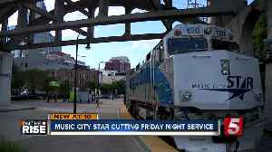Federal Regulations Force Music City Star to Cut Service [Video]