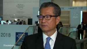 Hong Kong's Chan Says Impact of U.S.-China Trade War Is 'Manageable' [Video]