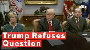 News video: Trump Refuses To Answer Reporter's 'Ridiculous Question'