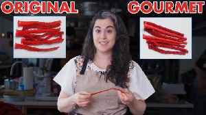How to Make Gourmet Twizzlers [Video]