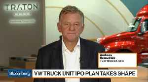 VW Trucks CEO on IPO Plans, Combating Trade Tariffs [Video]