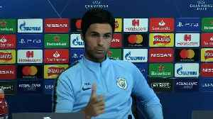 Arteta 'surprised' Manchester City are Champions League favourites [Video]