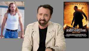 Nicolas Cage Revisits His Most Iconic Characters [Video]