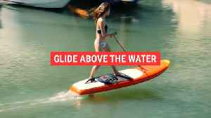 Glide above the water [Video]