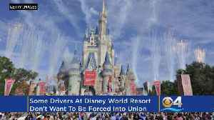 Some Lyft Drivers Put Brakes On Union At Disney World [Video]
