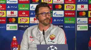 Roma's Di Francesco outraged by Costa spitting incident [Video]