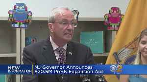 Gov. Murphy Announces New Pre-K Funding [Video]