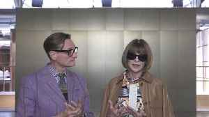 Vogue's Anna Wintour and Hamish Bowles Chat About the Best Moments of London Fashion Week [Video]