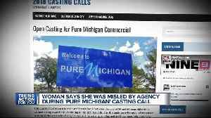'Pure Michigan' says casting call that duped Metro Detroit woman was a fake [Video]