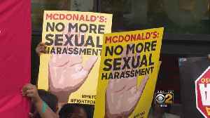 McDonald's Workers Strike Outside Corporate HQ Over Sexual Harassment [Video]