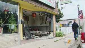 Driver Left Shaken Up After Crashing Into Coraopolis Chinese Restaurant [Video]