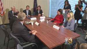 Attorney General Josh Shapiro Hosts Roundtable Discussion On Clergy Sex Abuse Within Catholic Church