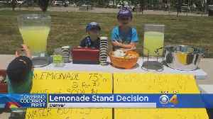 Kids' Lemonade Stands Now Allowed Without Permit In Denver [Video]