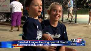 Miracle Baseball League Helping Special Needs [Video]