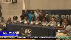 Moss Point girls powerlifting state championship ceremony [Video]