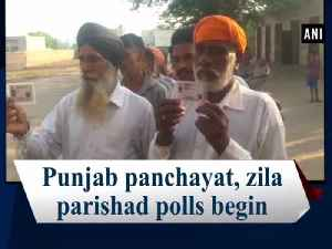 Punjab panchayat, zila parishad polls begin [Video]