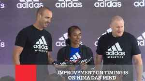 Improvement On Timing Is On Hima Das' Mind [Video]