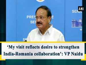 'My visit reflects desire to strengthen India-Romania collaboration': VP Naidu [Video]