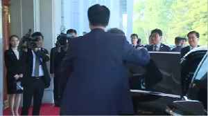 Leaders Of Two Koreas Begin One-On-One Summit [Video]