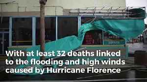 Florence Not Done Yet: The 'Worst Yet To Come,' Risks Include Flash Floods, Landslides, Tornadoes [Video]